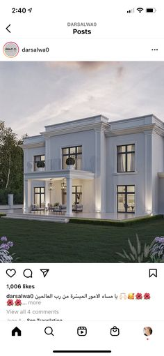 House Design, Mansions, House Styles, Home Decor, Decoration Home, Manor Houses, Room Decor, Villas, Mansion
