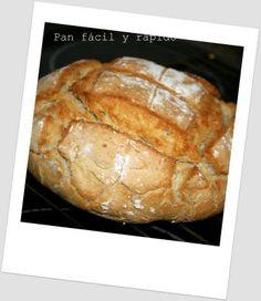 Pan fácil y rápido | Merche Cocinillas y ... ¡algo más!