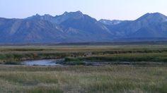 Owens River, Sierra Nevada Mountains.