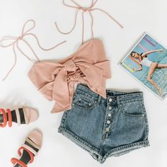 Fashion teenage school cute summer outfits New ideas Cute Summer Outfits, Outfits For Teens, Spring Outfits, Trendy Outfits, Cute Outfits, Summer Clothes, Teen Fashion, Fashion Outfits, Fashion Ideas