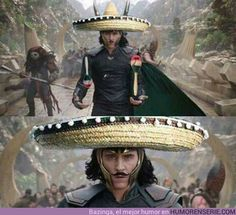 No.....Loki is not here.... only el Loco