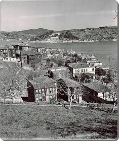 Arnavutköy Sırtlarından Boğaziçi - 1936
