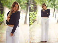 Podszewka w naszych białych szwedach!!!:)  #blogers #streetfashion #nife #podszewka #pants