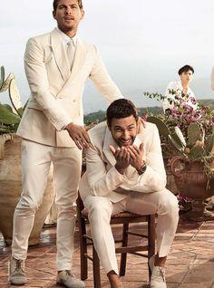Dolce & Gabbana S/S 2014   Noah Mills, Adam Senn, Tony Ward and Evandro Soldati [Full Campaign]