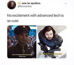 Bucky Barnes the Science Nerd