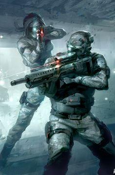 Sci-fi Soldiers | Jon McCoy