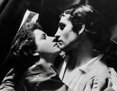 Laurence Olivier and Peggy Ashcroft in Romeo and Juliet, 1935.  She was hailed as the finest Juliet of her generation.