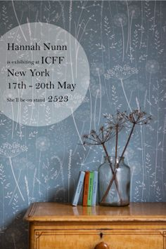 Hannah Nunn is exhibiting at the ICFF in New York in May. Please spread the word :) http://hannahnunn.blogspot.co.uk/2014/04/icff.html