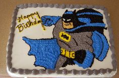 25 Incredible Batman Cakes for your Next Batman-themed Birthday! Batman Birthday Cakes, Batman Cakes, Batman Party, Birthday Cake Toppers, Simple Cake Designs, Birthday Cake Pictures, Cake Logo, Superhero Cake, Cake Images