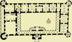 Santi Gucci zamek w Baranowie (plan)