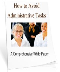 How to Avoid Administrative Tasks