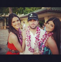 Photo of Brody Jenner & his  Sister  Kendall Jenner