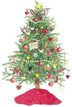 Susan Branch ~ Christmas Tree