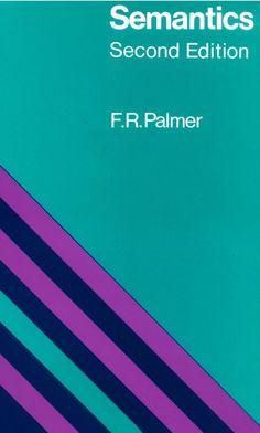Semantics - F.R. Palmer