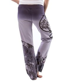 Loving this Lilac Floral Sweatpants by Paparazzi on #zulily! #zulilyfinds