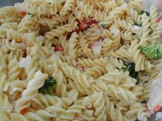 Imitation Crab And Pasta Salad Recipe Food Com. Healthy Pasta With Spicy Crab Recipe Bobby Flay Food . Shell Pasta Salads, Crab Pasta Salad, Pasta Dishes, Chicken Spaghetti Recipes, Chicken Recipes, Steak Recipes, Cooker Recipes, Pasta Recipes, Tri Color Pasta Salad