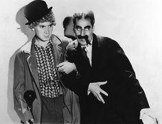 The Marx Brothers, Groucho Marx, Harpo Marx