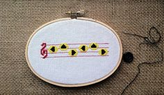 """Zelda's Lullaby–Inspired Cross-Stitch   23 Perfect Gifts For """"Legend Of Zelda"""" Fans"""