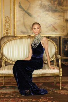On the Downton Abbey commercials! Ralph Lauren Masterpiece #dreamredcarpet @The Zoe Report @Rent the Runway