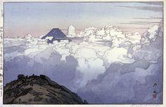 Komagatake  by Hiroshi Yoshida, 1929