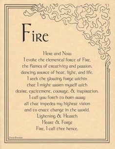 Fire Evocation