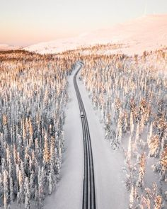 Best Countries To Visit, Cool Countries, Wanderlust, Finland Travel, Lapland Finland, Winter Sunset, Top Travel Destinations, Roadtrip, Winter Travel
