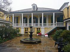 7. Beauregard-Keyes House, 1113 Chartres St., New Orleans, LA