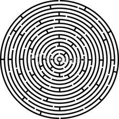 Circular Labyrinth...