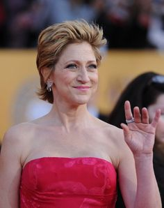 Edie Falco  A mob boss's wife can handle just about anything—including breast cancer. Edie, of The Sopranos, kept her 2003 struggle with the disease secret from her castmates.