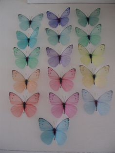 16 Pastel Girls Boys Bedroom Wall Furniture 3d by MyButterflyLove, $27.00