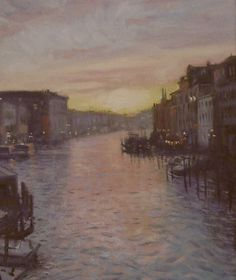 whistler painting | Venice in Whistler Style by Yover