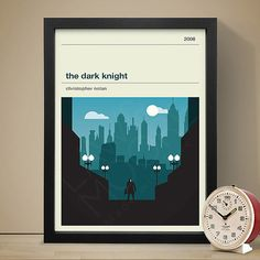The Dark Knight Movie Poster  Movie Poster Movie by LawandMoore