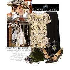Downton Abbey, created by cutandpaste on Polyvore