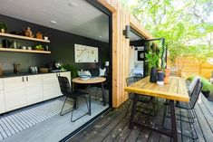 Bachelorette Stars Jojo Fletcher and Jordan Rodgers Renovated a Shipping Container on Their New Show 'Cash Pad', And You Can Rent it on Airbnb Building A Container Home, Container House Plans, Container House Design, Tiny House Design, Container Cabin, Cargo Container, Container Office, Container Store, Jojo And Jordan