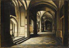 Hendrick van Steenwyck le Jeune, Intérieur d'église. Effet de nuit. Paris, musée du Louvre.
