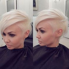 40 Stunning Edgy Haircuts Ideas For Your Inspiration Edgy Haircuts, Trendy Hairstyles, Undercut Hairstyles, Short Shaved Hairstyles, Pixie Haircuts, Pixie Hairstyles, Braided Hairstyles, Love Hair, Great Hair