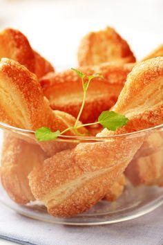 Easy Puff Pastry Cinnamon Twists Dessert #Recipe