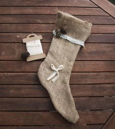 Burlaup stocking