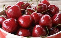 cherries bags from southern california limit 2 per person.