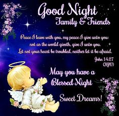 Good Night,  sister and all,have a restful sleep,xxx God Bless ❤❤❤✨✨✨