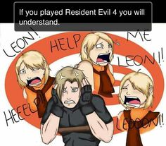 ¬_¬ yeah, I despise Ashley. - Resident Evil 4