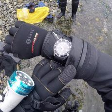 Casio MDV106-1A Diver Wristshot On Beach