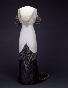 Evening Dress Jean-Philippe Worth, 1912-1913 Nasjonalmuseet for Kunst, Arketektur, og Design