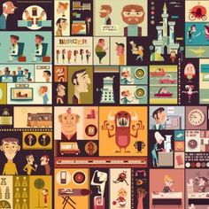 Cengage Textbooks - Spot Illustrations by James Gilleard