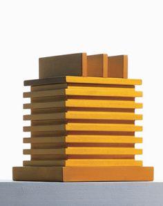 Ettore Sottsass, Zita, Wooden Secret Box