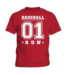 #1 BASEBALL SON  T-SHIRT  Funny dad and son T-shirt, Best dad and son T-shirt