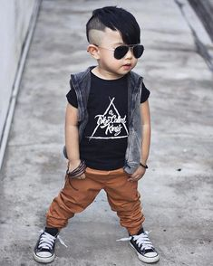 Mini Me Fashion // Kids Fashion // Boho Baby ❤︎ Baby Outfits, Outfits Niños, Toddler Outfits, Kids Outfits, Toddler Boy Fashion, Little Boy Fashion, Toddler Boys, Toddler Fashionista, Style Hipster