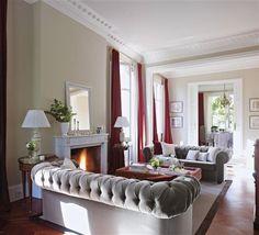 Una casa entre el clásico y el barroco · ElMueble.com · Casas