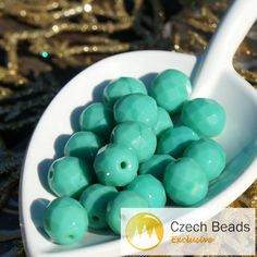 ✔ What's Hot Today: Opaque Turquoise Czech Glass Round Faceted Beads Turquoise Faceted Beads Czech Faceted Beads Turquoise Czech Fire Polished Beads 10mm 10pcs https://czechbeadsexclusive.com/product/opaque-turquoise-czech-glass-faceted-beads-turquoise-faceted-beads-czech-faceted-beads-turquoise-czech-fire-polished-beads-10mm-10pc/?utm_source=PN&utm_medium=czechbeads&utm_campaign=SNAP #CzechBeadsExclusive #czechbeads #glassbeads #bead #beaded #beading #beadedjewelry #handma