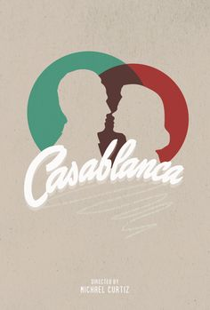 Casablanca - movie poster - Stain Girl